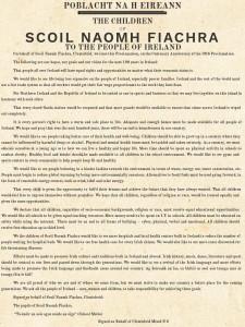 Proclamation by Clontubrid Mixed N S